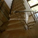 China lustrou a areia dourada, Padang Giallo, escada do granito G682 para a etapa/montante