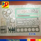 Jogo de revisão da gaxeta principal de cilindro das partes de motor Diesel 3116