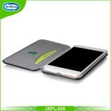 Großhandelsqualitäts-Leder-Kasten für iPhone 7, Telefon-Kasten mit Kartenhalter für iPhone 7plus