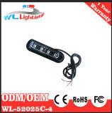 4W lampeggiante di superficie d'avvertimento esterno automatico del supporto del supporto LED