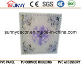 벽과 천장 도와에 사용되는 인쇄된 PVC 위원회 595 600 603mm