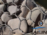 Sailin heiße eingetauchte Gabion Felsen-Draht-Filetarbeit