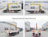 6개의 바퀴 Jmc 화물 자동차 트럭 가격에 거치되는 망원경 기중기 3 톤