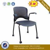 Chaise en plastique en plastique pour les jambes en métal de nouvelle conception (HX-5CH131)