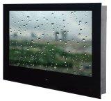 Nuovo 24 '' LED impermeabili TV astuta per la stanza da bagno con rivestimento magico dello specchio, USB di WiFi di sostegni