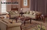 Jogo clássico da tabela da cadeira clássica do assento de amor da antiguidade do sofá da tela
