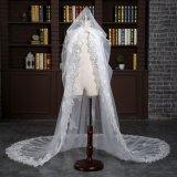 Собор Aoliweiya одна вуаль венчания слоя с отбортовывать шнурка гребня