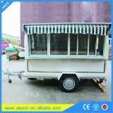 Ys-FT280c Hot Sale China Food Trailers Mobile Dining Car