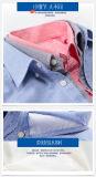 Camisa pura nuevo 2017 de los hombres de Oxford de la funda larga ocasional caliente del algodón