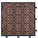 La vendita calda WPC che collega il Decking di plastica copre di tegoli le mattonelle di pavimentazione di legno di DIY