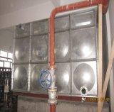 De vierkante Tank van het Water Panels/Ss van de Tank van het Water van het Roestvrij staal van het Type Modulaire 1000 Liter