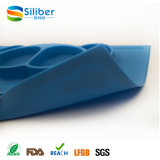 Миниый силикон ягнится Placemat, циновка младенца Non-Slip подавая