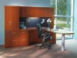 Mesa de escritório do gabinete do Hutch da mobília de escritório da cereja/tabela grandes (HX-N0077)