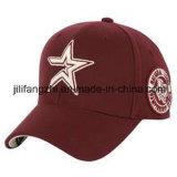 Gancho liso & laço da cor contínua do chapéu do espaço em branco do boné de beisebol ajustáveis