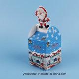 Boîte-cadeau d'Apple de papier de mode de réveillon de Noël