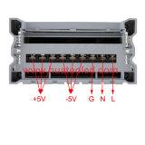 bloc d'alimentation antipluie de l'interpréteur de commandes interactif en aluminium continuel DEL de la tension 5V-350W