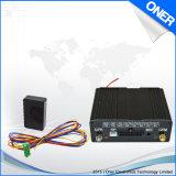 Perseguidor do carro do GPS de uma comunicação em dois sentidos com sistema de seguimento do Web