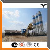 Impianto di miscelazione concreto 75m3/H, pianta d'ammucchiamento concreta del nastro trasportatore dell'elevatore a secchia di Hzs 75 nel prezzo della Cina Competetive