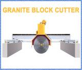 Cortadora de piedra para cortar bloques de granito en losas