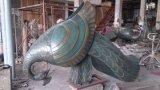 Le paon, coutume professionnelle en jardin de sculpture en métal de sculpture de décoration de décoration de sculpture décorative extérieure en décoration intérieure le prix est raisonnable