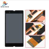 Касание LCD мобильного телефона для агрегата экрана дисплея Сони z