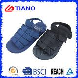 Il tessuto lega il sandalo casuale degli uomini esterni (TNK35566)