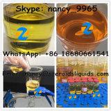 暗く黄色いTrenbolone Enanthateの同化ステロイドホルモンのホルモンの粉の生産者の製造業者