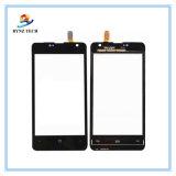 Экран касания индикации LCD сотового телефона для замены агрегата Nokia Lumia 430 Майкрософт N430