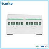 L'éclairage contrôle le dispositif d'entraînement électrique de Knx 6-Fold