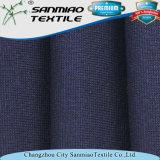 Tessuto del denim del Knit della nervatura dello Spandex 1*1 di alta qualità