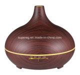Difusor leve do aroma do diodo emissor de luz da fragrância essencial de madeira do petróleo