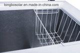 Congélateur commercial 354L de poitrine de congélateur solaire de C.C 12V 24V