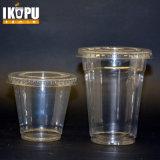 使い捨て可能なプラスチックはサラダアイスクリームの冷たい飲み物のためのペットプラスチックコップをすくう