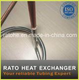 Échangeur de chaleur de bobine d'en cuivre de double pipe