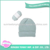 Mode personnalisée par qualité tricotant à la main le chapeau de l'hiver