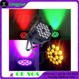 DJ Stage Luz RGBWA UV 6in1 18X18W LED PAR