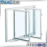 Guichet en verre de profil de tissu pour rideaux de double en aluminium de guichet