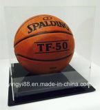 Bovenkant die Acryl KleinhandelsVitrine voor Basketbal verkopen