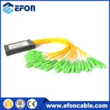 Precio de fibra óptica del divisor del cassette del PLC 1*32 del OEM de la fuente de China