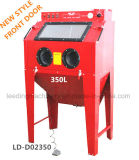 arenador industrial de la arena de los guantes de la herramienta de aire de la cabina del chorro de arena 990L