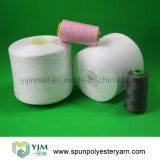 60/3 amorçage de couture tourné par polyester en plastique de cône