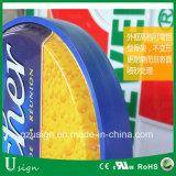 Коробка акрилового материального пива напольный рекламировать СИД светлая