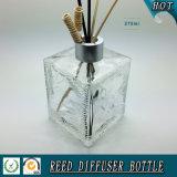 Glasflasche des quadratischen dekorativen Reeddiffuser- (zerstäuber)275ml