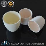 Crogiolo di ceramica dell'allumina di grande qualità con il coperchio