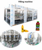 Автоматический сок с бутылки любимчика напитка соды воды питья клубники пульпы машиной горячей Carbonated заполняя разливая по бутылкам упаковывая
