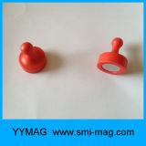 Magnete magnetico NdFeB di Pin di spinta del neodimio del supporto del calendario per il frigorifero
