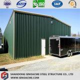 Estructura de acero de la calidad para el almacén/el garage/vertido