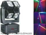 LED 8PCS*10W LED 디스코 이동하는 맨 위 빛