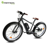 36V250W 8 Diversión MID Drive Full Suspension Electric Mountain Bike