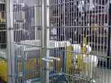 ステンレス鋼の溶接された網の動物園の塀